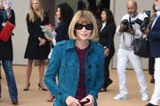 Anna Wintour Leather Coat