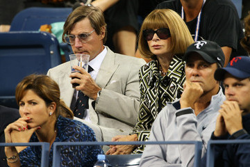 Anna Wintour Shelby Bryan 2012 US Open - Day 10