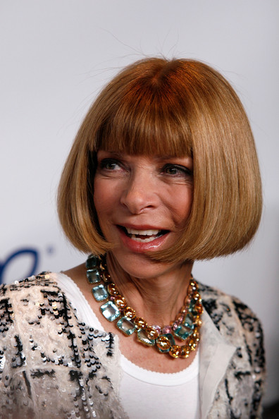Anna Wintour Bob [hair,hairstyle,face,bob cut,blond,hair coloring,bangs,chin,layered hair,brown hair,new york city,lincoln center,alice tully hall,national magazine awards,anna wintour,editor-in-chief]