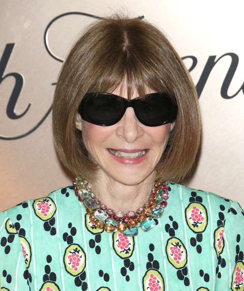 Anna Wintour Bob [eyewear,hair,hairstyle,cool,bangs,glasses,sunglasses,blond,black hair,brown hair,anna wintour,list,new york city,lavenue,vanity fair]