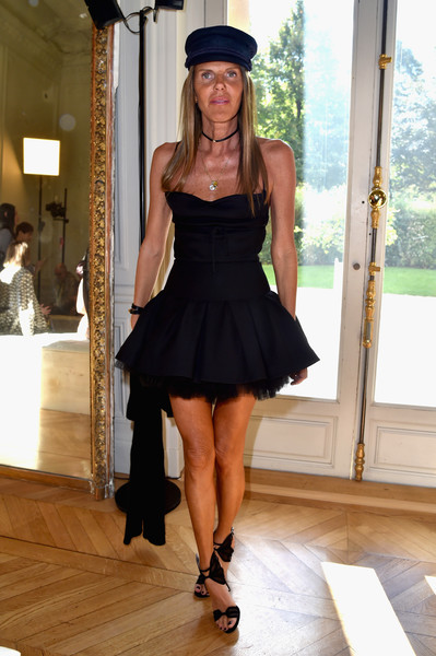 Anna dello Russo Little Black Dress