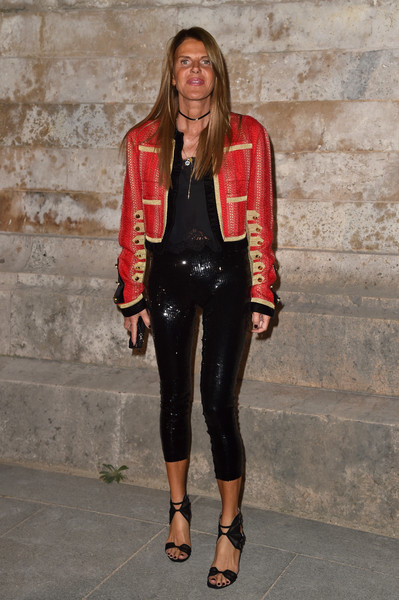 Anna dello Russo Military Jacket