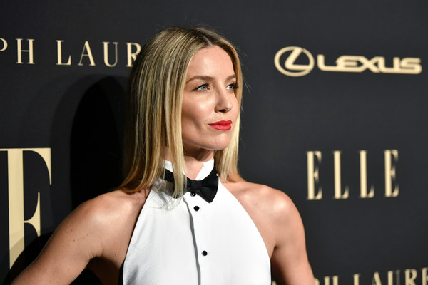 Annabelle Wallis Long Straight Cut [beauty,blond,hairstyle,cheek,fashion,premiere,carpet,bow tie,muscle,dress,lexus - arrivals,26th annual women in hollywood celebration,ralph lauren,annabelle wallis,los angeles,beverly hills,california,the four seasons hotel,elle,lexus]