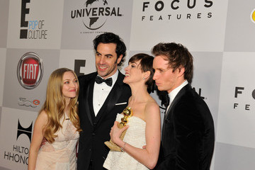 Anne Hathaway Amanda Seyfried NBCUniversal Golden Globes Viewing And After Party - Red Carpet
