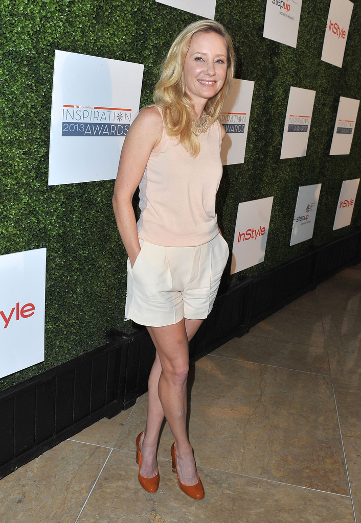 Anne Heche Knit Top Anne Heche Looks Stylebistro