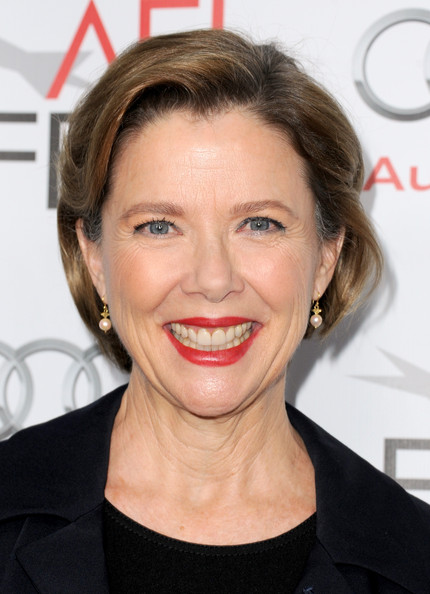 Annette Bening Bob [conversation with annette bening,hair,face,lip,hairstyle,eyebrow,facial expression,chin,skin,forehead,smile,arrivals,annette bening,california,hollywood,egyptian theatre,audi,afi fest,audi conversation]