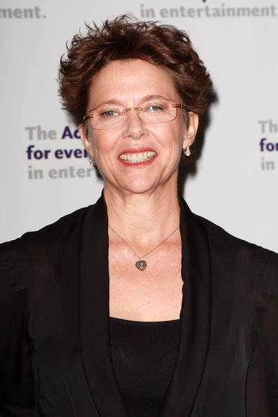 Annette Bening Messy Cut [chin,smile,glasses,white-collar worker,premiere,official,annette bening,new york city,actors fund,the new york marriott marquis,gala,actors fund annual gala]