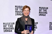 Annette Bening Solid Scarf