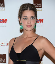 Ana Beatriz Barros topped off her Brazil Foundation Gala look with a boho-chic braided updo.