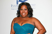 Actress Amber Riley attends the Annual STARS 2010 Benefit Gala at the Beverly Hilton Hotel on November 1, 2010 in Beverly Hills, California.
