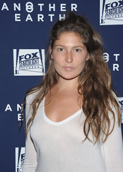 Stella Schnabel wore her waves down at the 'Another Earth' NYC premiere.