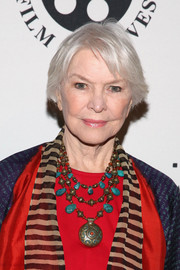 Ellen Burstyn kept it casual with this bob at the Anthology Film Archives benefit.