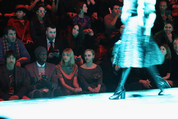Marc Jacobs - Front Row - Mercedes-Benz Fashion Week Fall 2015