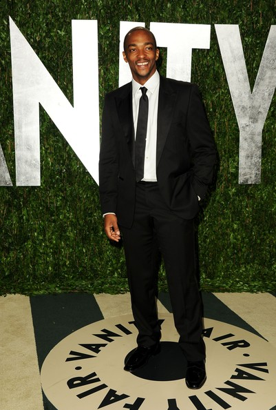 Anthony Mackie Men's Suit [oscar party,vanity fair,suit,formal wear,tuxedo,white-collar worker,style,businessperson,west hollywood,california,sunset tower,anthony mackie,graydon carter - arrivals,graydon carter]