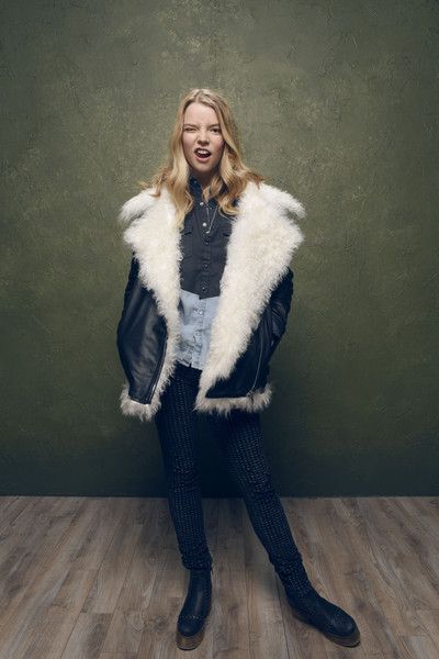 Anya Taylor-Joy Ankle Boots [portraits,portrait,the witch,fur,fur clothing,clothing,outerwear,lady,fashion,textile,fashion model,photography,natural material,anya taylor-joy,lift,village,utah,park city,mcdonalds,sundance film festival]