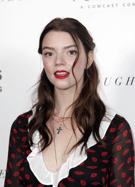 Anya Taylor-Joy Cross Pendant