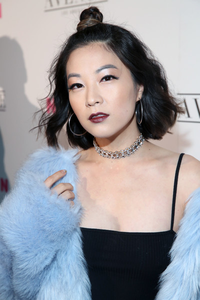 Arden Cho Half Up Half Down [hair,fur,lip,eyebrow,skin,beauty,hairstyle,fur clothing,lady,chin,arden cho,nylon,los angeles,avenue los angeles,nylon young hollywood party,california,young hollywood party]