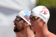 Conor Dwyer and Michael Phelps Photo