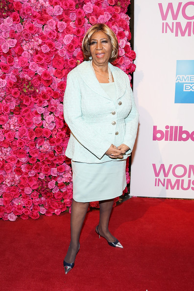 Aretha Franklin Skirt Suit