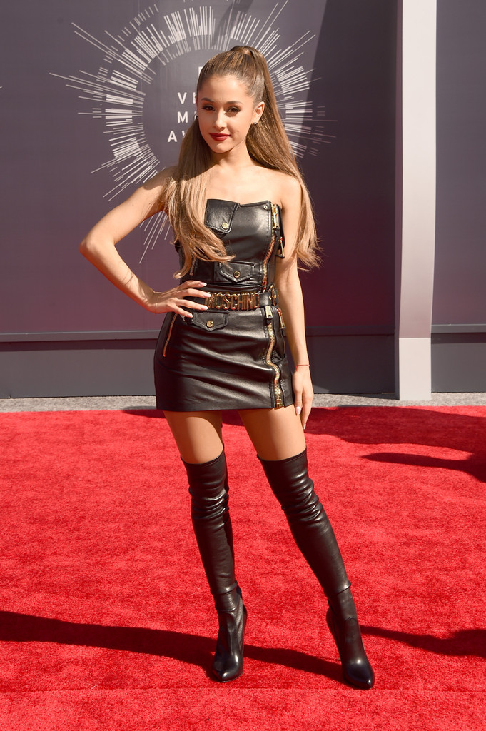 Ariana Grande Over The Knee Boots Ariana Grande Looks