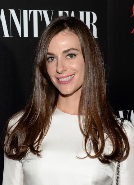 Ariana Rockefeller Long Side Part