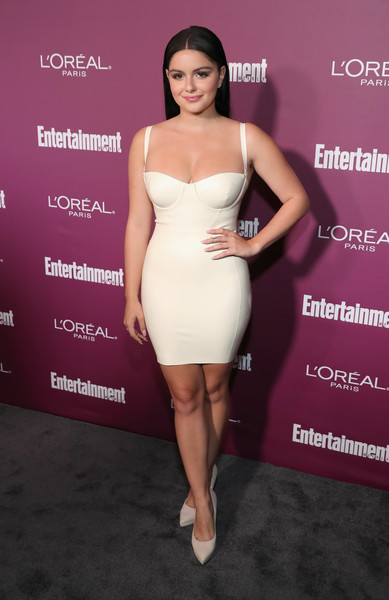 Ariel Winter Form-Fitting Dress