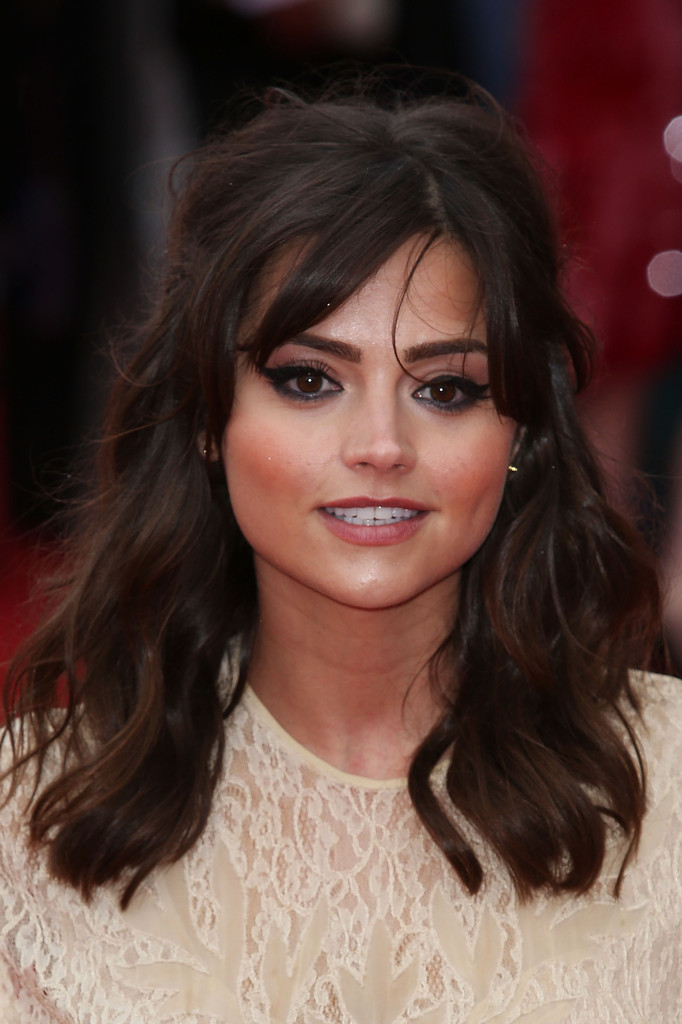 More Pics Of Jenna Louise Coleman Evening Dress 3 Of 3