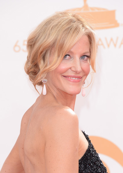 More Pics of Anna Gunn Bobby Pinned Updo (1 of 54) - Updos Lookbook - StyleBistro