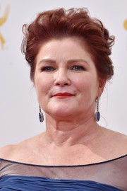 Kate Mulgrew sported a messy-glam updo at the Emmys.