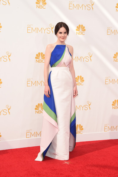 More Pics of Michelle Dockery Chignon (1 of 13) - Chignon Lookbook - StyleBistro