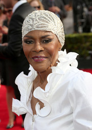 Cicely Tyson made a retro-glam statement at the Emmys with this beaded skullcap.