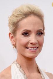 Joanne Froggatt went for classic elegance with this loose bun during the Emmys.