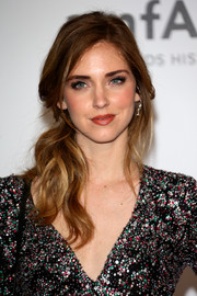 Chiara Ferragni looked charming wearing this loose side ponytail at the Cinema Against AIDS Gala.