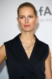 Karolina Kurkova made a fashionable statement with that stunning snake necklace at the Cinema Against AIDS Gala.