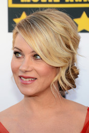 Christina Applegate looked dreamy at the Critics' Choice Awards with her lovely side chignon.