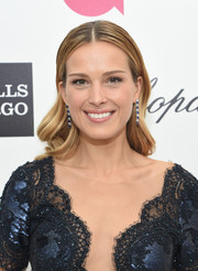 Petra Nemcova looked very pretty with her girly waves during Elton John's Oscar-viewing party.