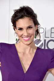 Daniela Ruah opted for a messy updo when she attended the People's Choice Awards.