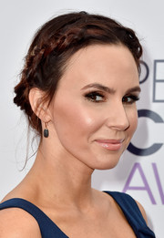 Keltie Knight swept her hair up into a charming braided 'do for the People's Choice Awards.