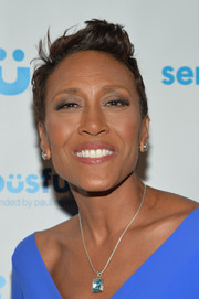 Robin Roberts attended the SeriousFun Children's Network Gala wearing her hair in a fauxhawk.