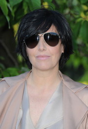 Sharleen Spiteri wore an edgy-casual layered razor cut at the Serpentine Gallery Summer Party.