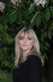 Sophie Dahl kept it youthful with this long straight hairstyle with wispy bangs during the Serpentine Gallery Summer Party.