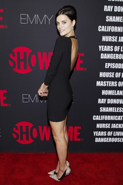 Va va voom... Jaimie Alexander rocked a sexy LBD at the Emmy Eve Soiree.