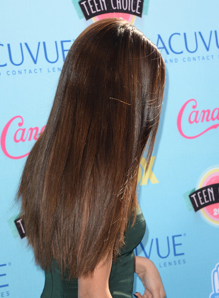 More Pics of Selena Gomez Long Straight Cut (1 of 25) - Long Hairstyles Lookbook - StyleBistro