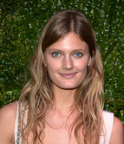 Constance Jablonski looked oh-so-cute with her beachy waves at the Tribeca Film Festival Artists Dinner.
