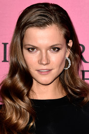 Kasia Struss looked lovely with her retro waves at the Victoria's Secret fashion show after-party.