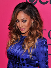 La La Anthony was beautifully coiffed with a high-volume curly 'do during the Victoria's Secret fashion show.