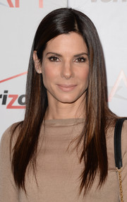 Sandra Bullock was flawlessly coiffed with this sleek straight 'do during the AFI Awards.