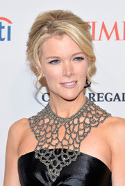 Megyn Kelly looked romantic wearing this loose bun at the Time 100 Gala.