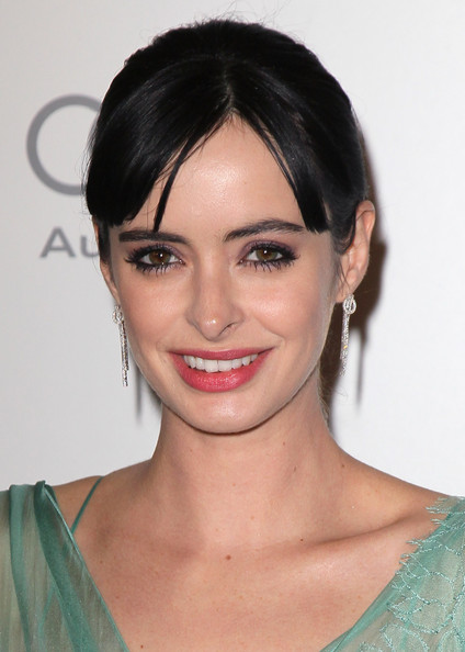More Pics of Krysten Ritter Dangling Diamond Earrings (3 of 10) - Dangling Diamond Earrings Lookbook - StyleBistro