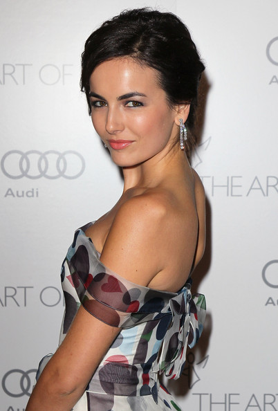 More Pics of Camilla Belle Messy Updo (2 of 15) - Camilla Belle Lookbook - StyleBistro